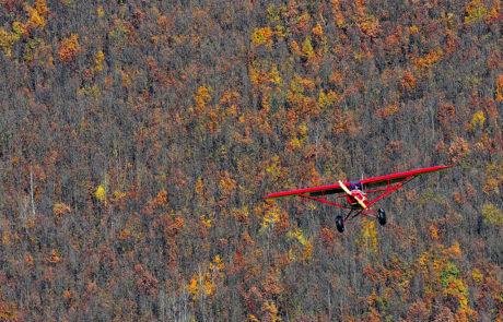 Zboruri de fotografiere in Maramures, cu avion ultrausor